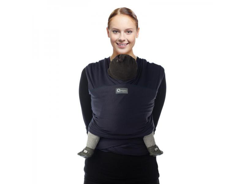 TRICOT-SLEN šátek na nošení dětí col. 945 navy blue organic 1