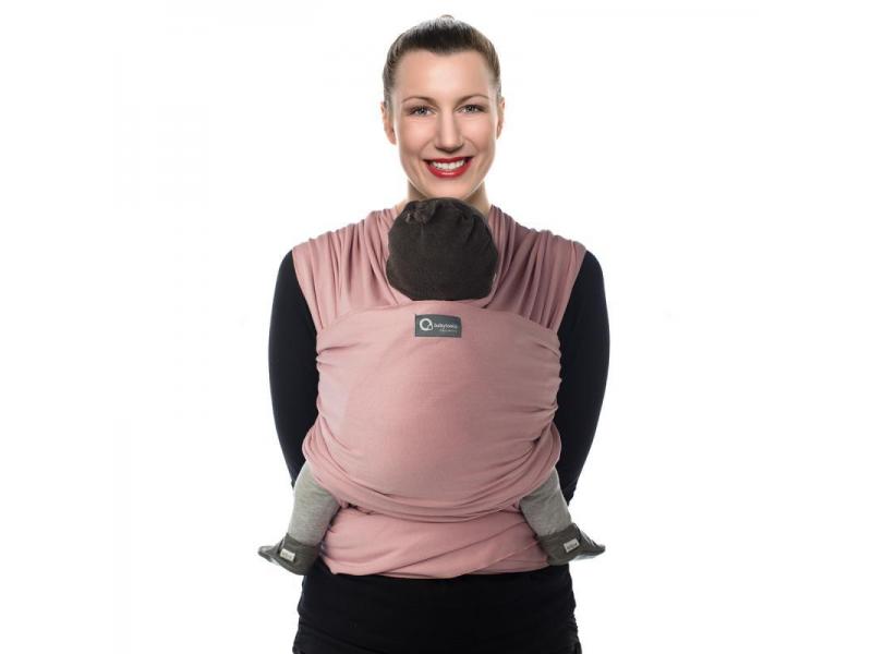 TRICOT-SLEN šátek na nošení dětí col. 970 soft pink organic 1