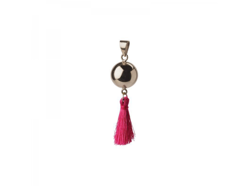 BOLA silver with tassle 1