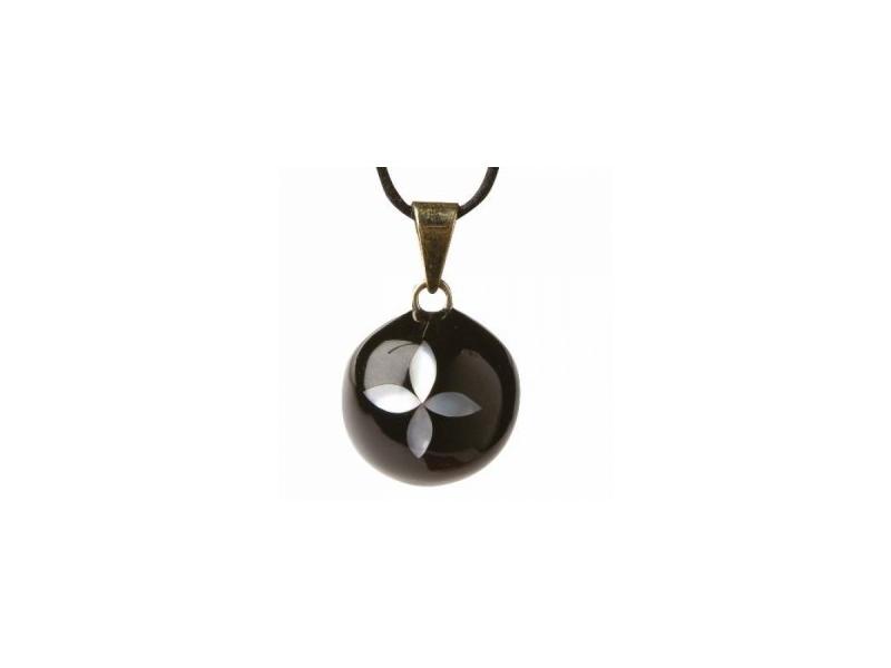BOLA black pearl flower 1