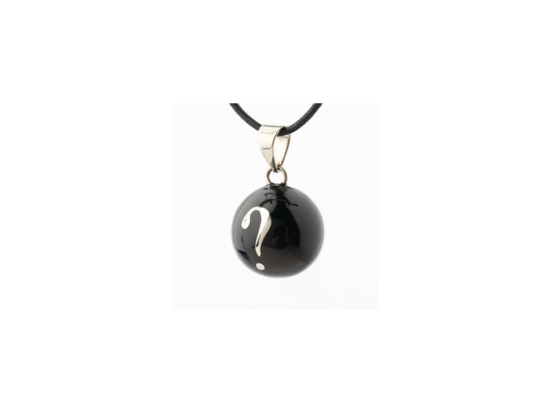 BOLA black silver question mark 1