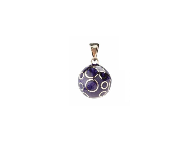 BOLA purple blue circles 1