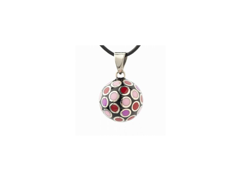 BOLA dots pink/red 1