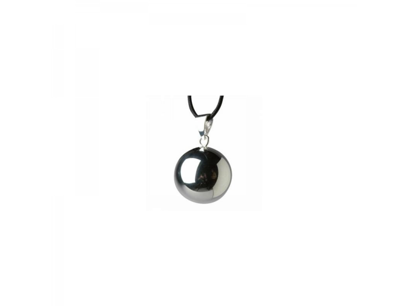 BOLA 20mm plain silverplated 1