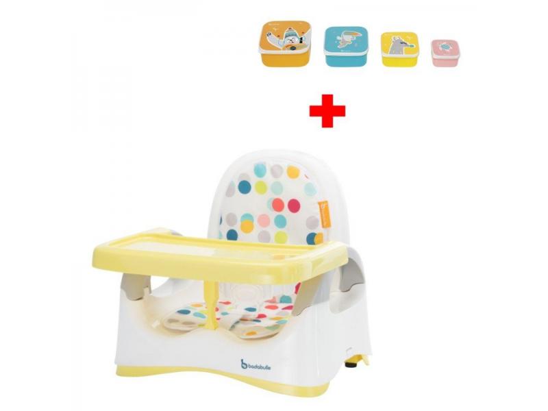 Přenosná židlička Comfort Yellow + DÁREK ZDARMA 1