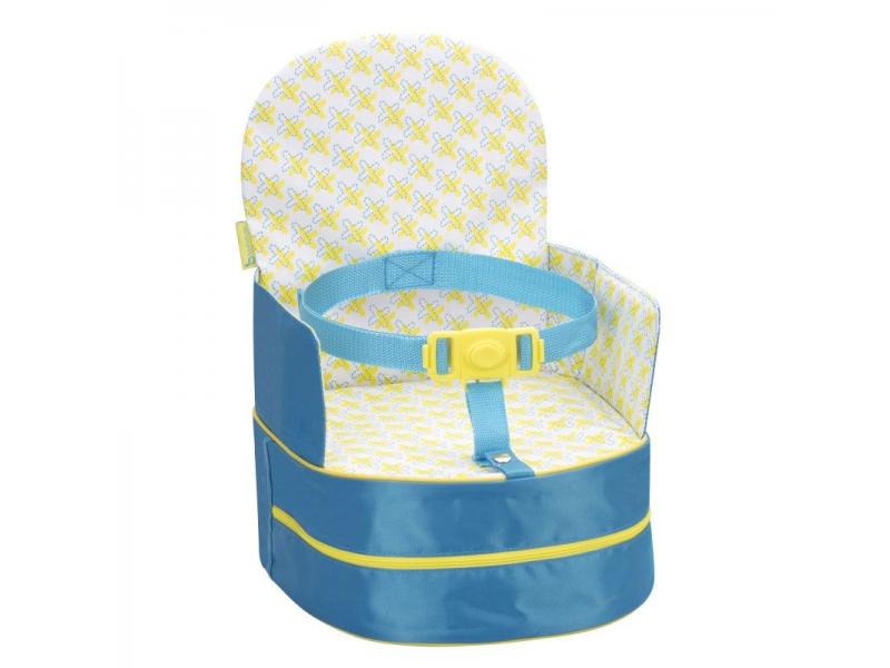 Badabulle přenosná židlička 2v1 On-the-Go Bue