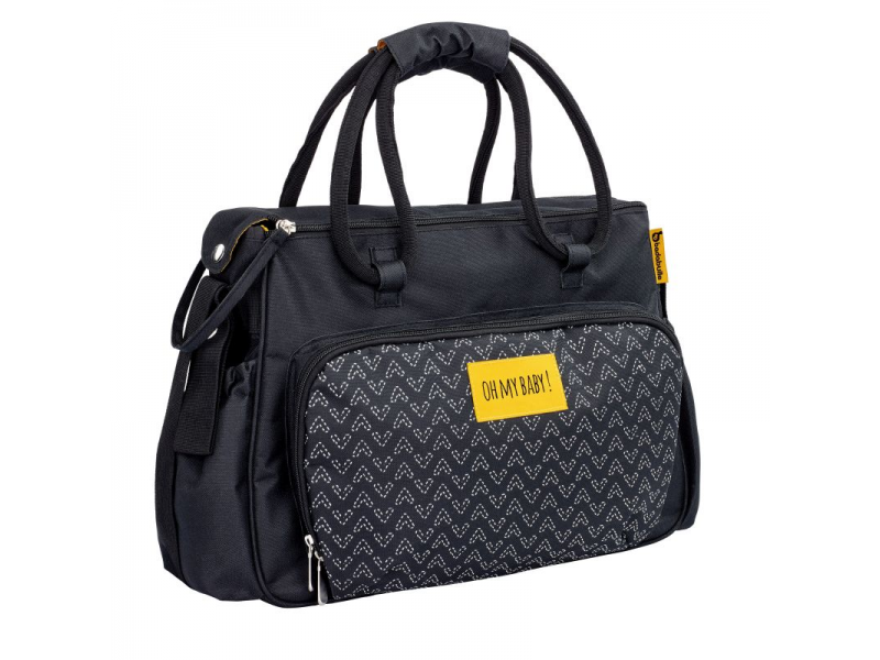 Přebalovací taška BOHO Black 1