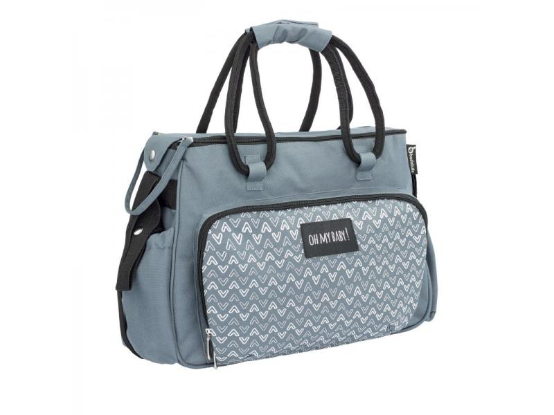 Přebalovací taška BOHO Grey 1