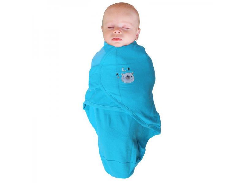 zavinovačka B-Wrap SMALL (3,2-6,4kg) Blue Bear 1