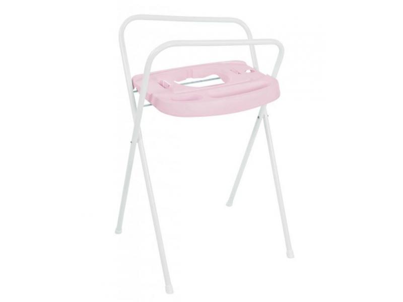 Bebe-jou Kovový stojan Click na vaničku 98cm Pretty Pink