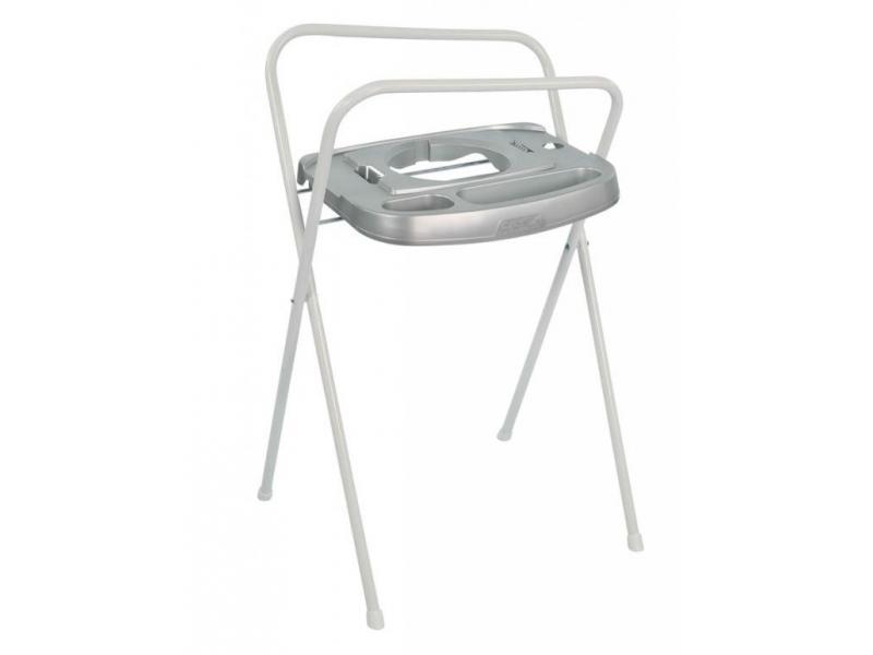 Bebe-jou Kovový stojan Click na vaničku 98cm Silver