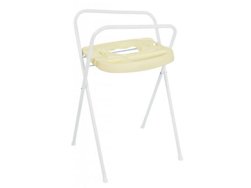 Bebe-jou Kovový stojan Click na vaničku 98 cm krémově žlutá