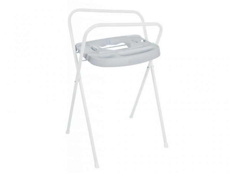 Bebe-jou Kovový stojan Click na vaničku 103cm Light Grey