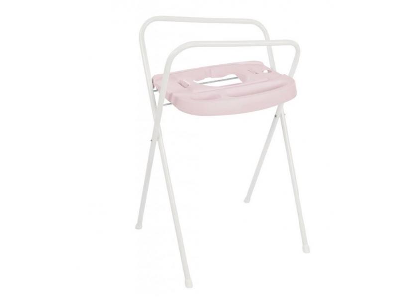 Kovový stojan Click na vaničku 103cm Pretty Pink 1