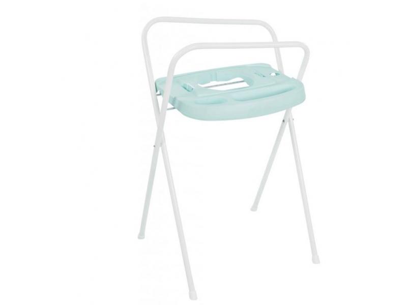 Bebe-jou Kovový stojan Click na vaničku 103cm mentolová