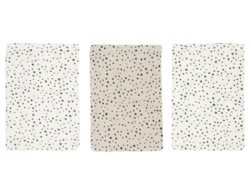 Mušelínové žínky Fabulous Dots 3ks 1