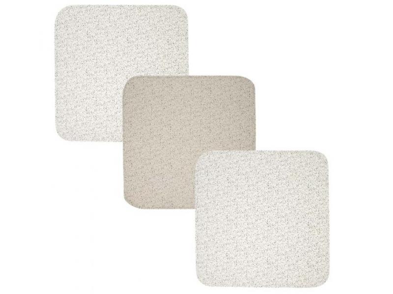 Mušelínová plenka 70x70 cm set 3ks Fabulous Dots 1