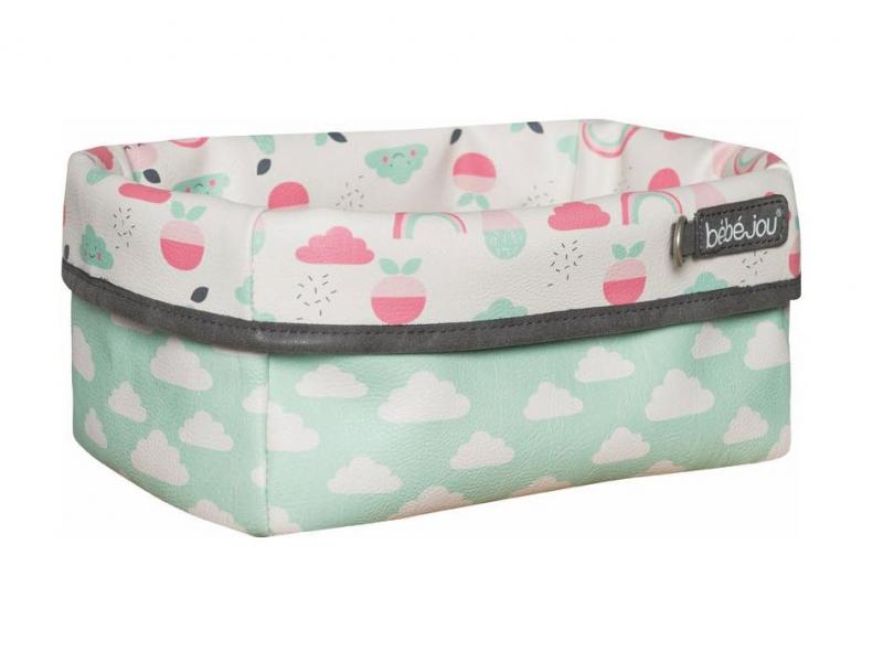 Textilní košík na kojenecké potřeby Blush Baby 1