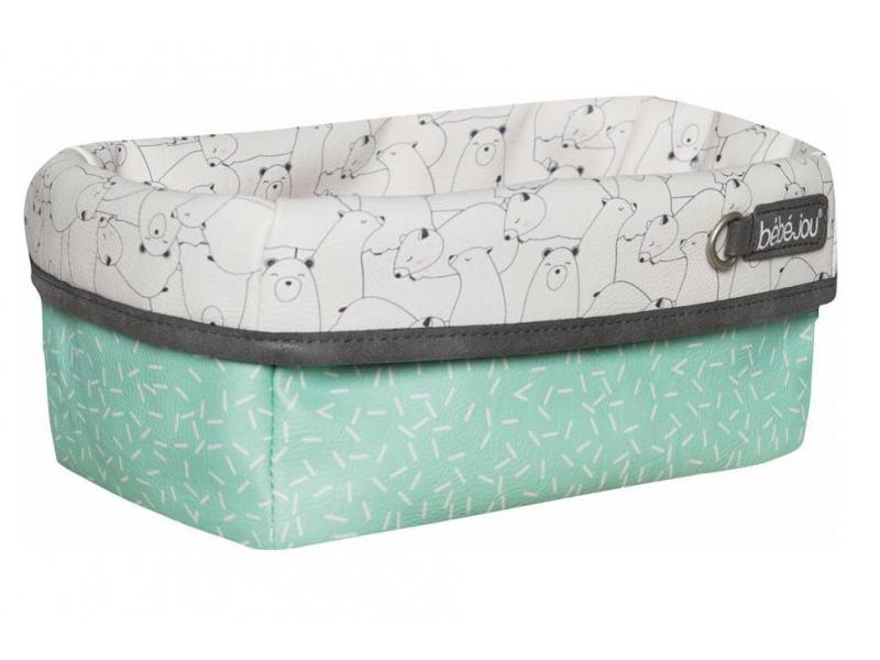 Textilní košík na kojenecké potřeby Bo a Bing 1