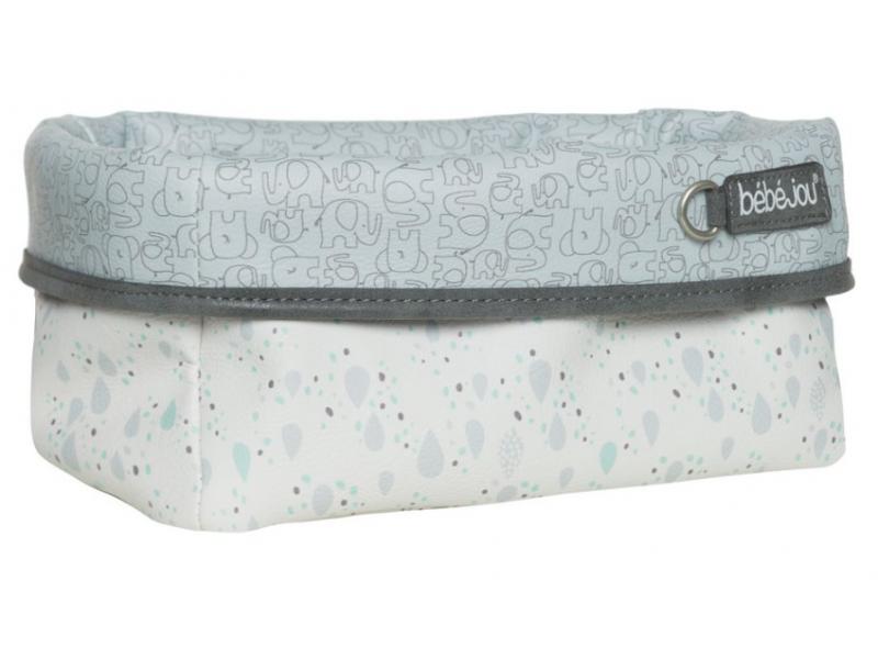 Textilní košík na kojenecké potřeby Ollie 1
