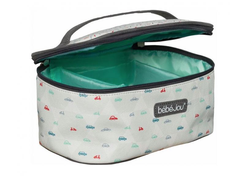 Beautycase kosmetická taška s odepínacím víkem Wheely 1