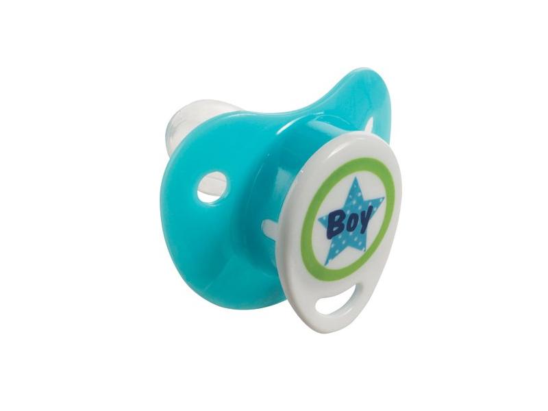 Dudlík-silikon 0+M Boy sv.modrý 1