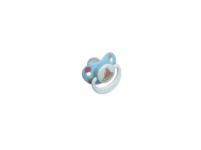 Dudlík-silikon 18-36M sv. modrý 1
