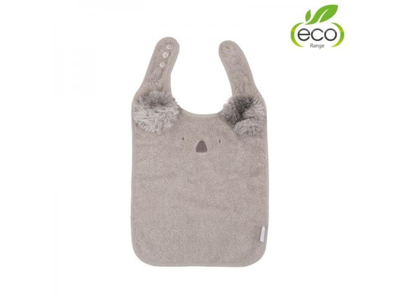 bryndáček B-Bib ECO Grey Koala 1