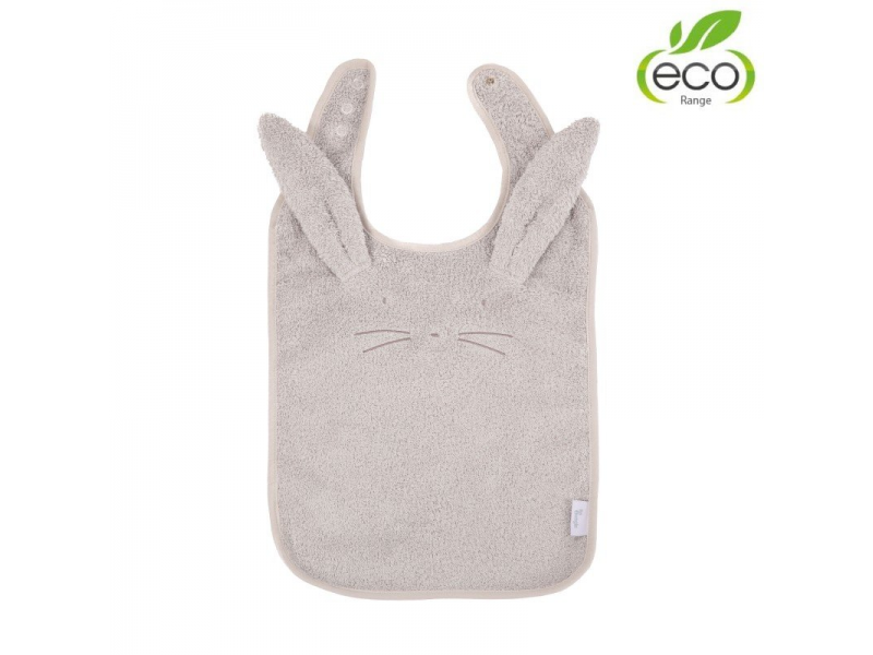 bryndáček B-Bib ECO Grey Rabbit 1