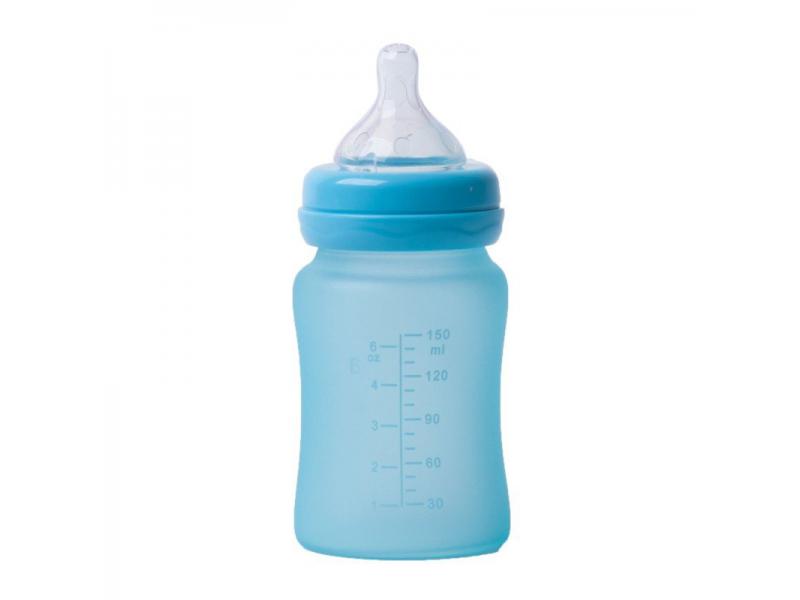 skleněná láhev B-Thermo 150ml Turquoise 1