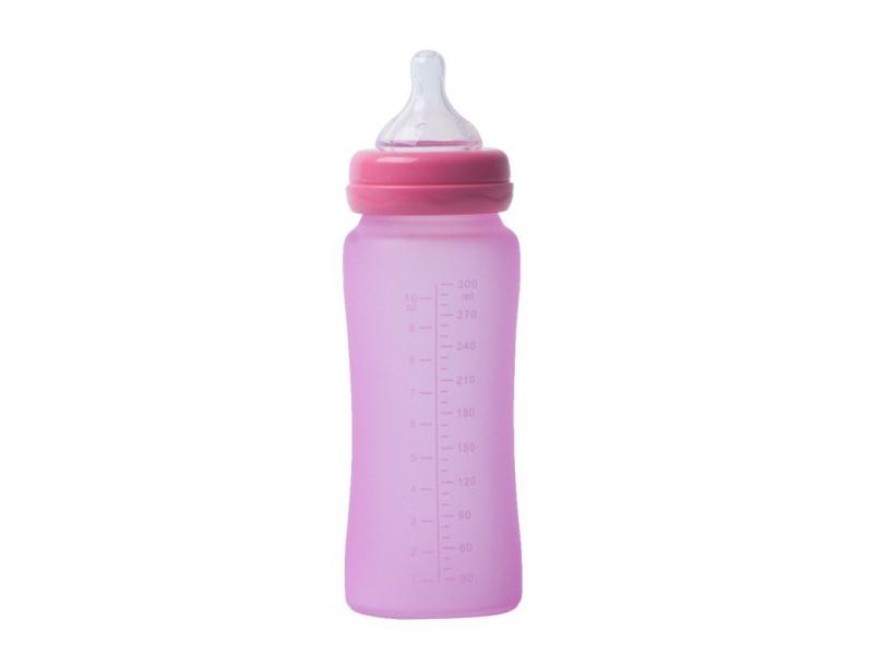 skleněná láhev B-Thermo 300ml Pink 1
