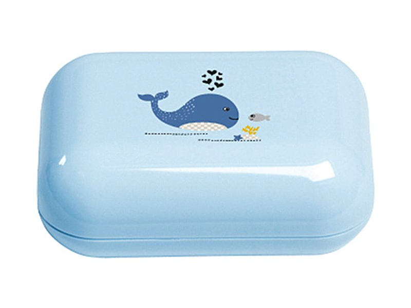Bebe-jou Pouzdro na mýdlo Wally Whale dream blue
