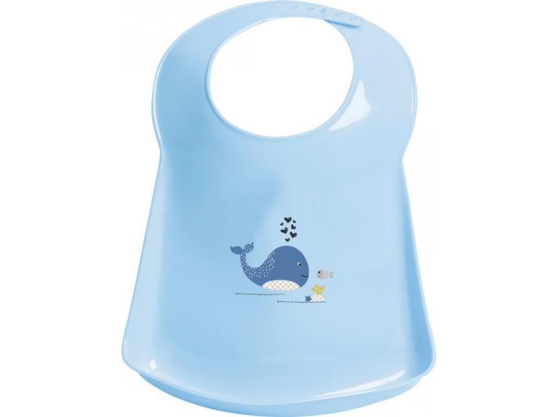Bebe-jou Plastový bryndák Bébé-Jou Wally Whale