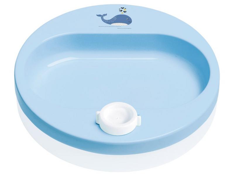 Bebe-jou Ohřívací talíř Wally Whale
