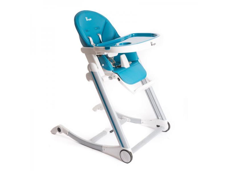 jídelní židlička B-HIGH CHAIR Blue 1
