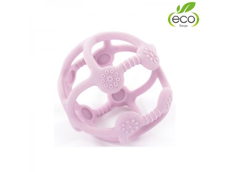 silikonové kousátko B-BALL Pastel Pink 1