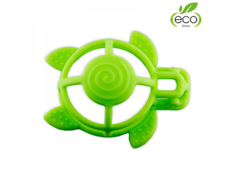 silikonové kousátko B-Turtle Green 1