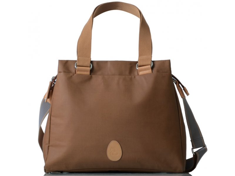 PacaPod RICHMOND hnědá - kabelka i přebalovací taška