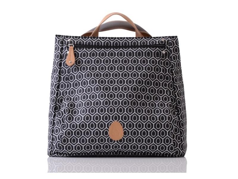 PacaPod LEWIS černá - batoh i přebalovací taška