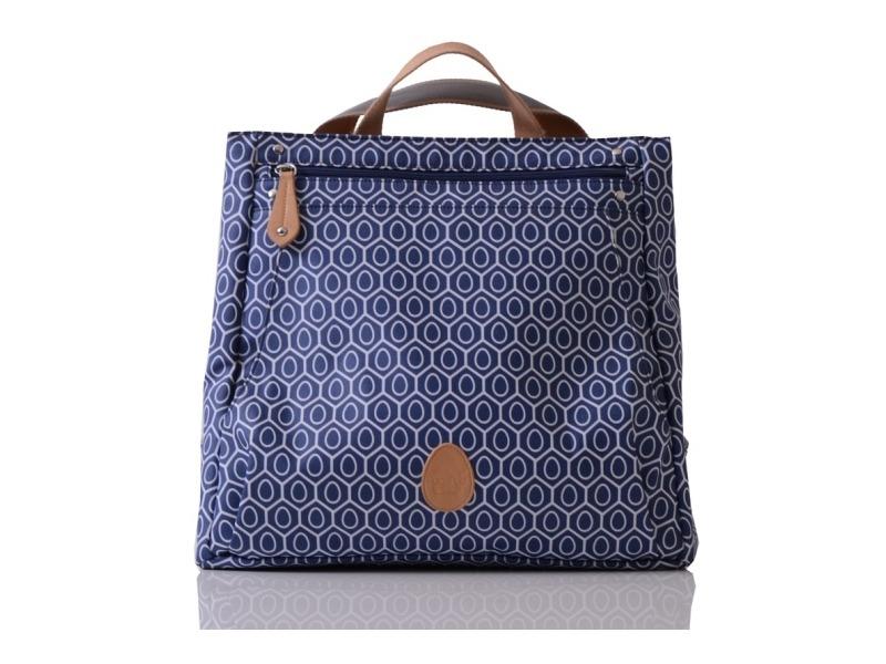 PacaPod LEWIS modrá - kabelka i přebalovací taška