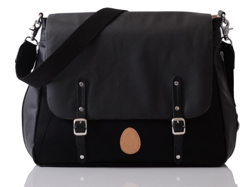 PacaPod PRESCOTT černá - kabelka i přebalovací taška
