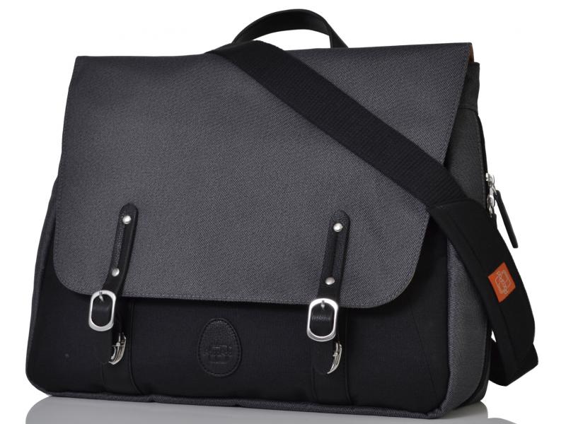 PacaPod PRESCOTT šedočerná - přebalovací taška i batoh