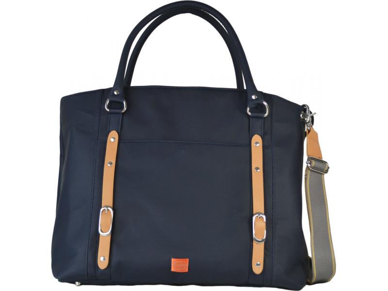 PacaPod MIRANO modrá - kabelka i přebalovací taška