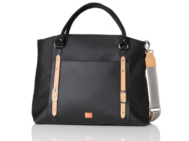 PacaPod MIRANO černá - kabelka i přebalovací taška