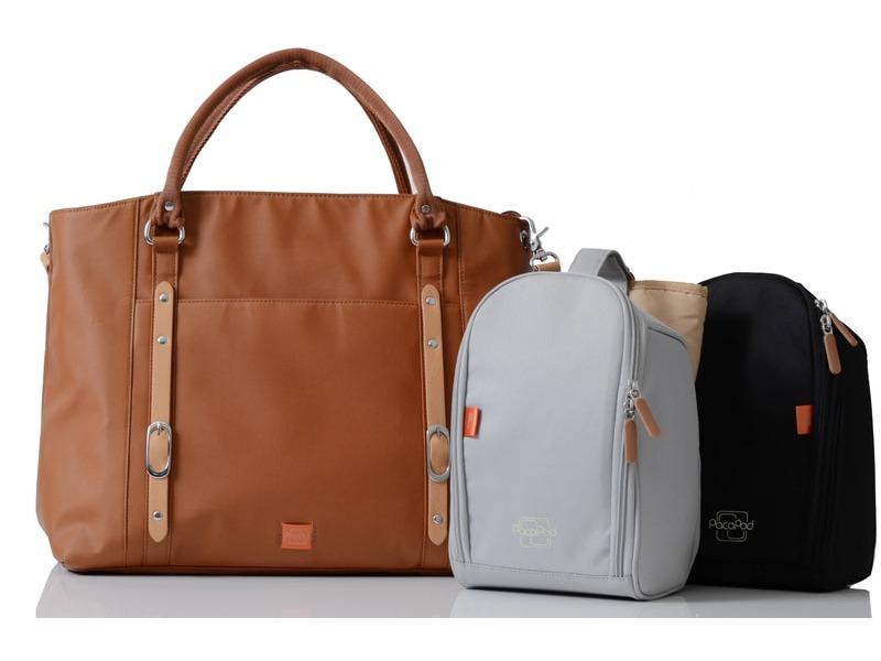 MIRANO světle hnědá - kabelka i přebalovací taška 3 753c2d72d7e