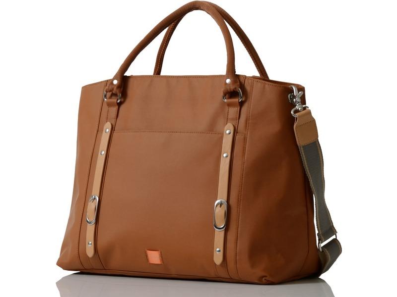 PacaPod MIRANO světle hnědá - kabelka i přebalovací taška