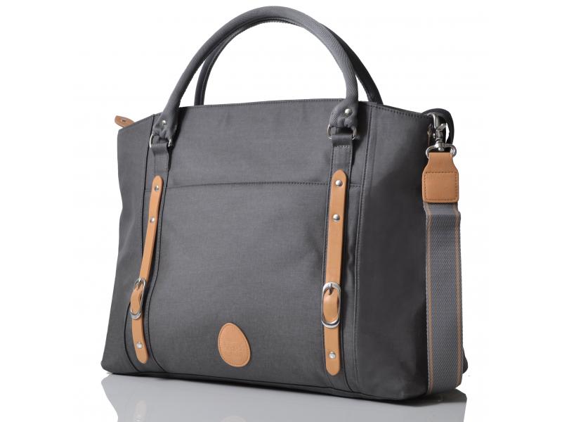 PacaPod MIRANO šedá - kabelka i přebalovací taška