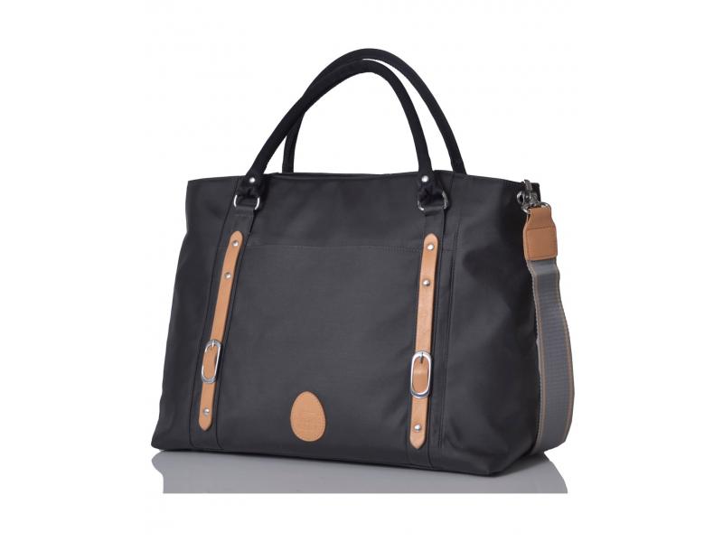 PacaPod MIRANO graphite - kabelka i přebalovací taška
