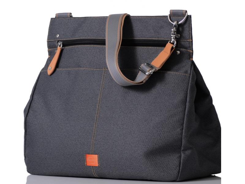 PacaPod OBAN šedočerná - kabelka i přebalovací taška
