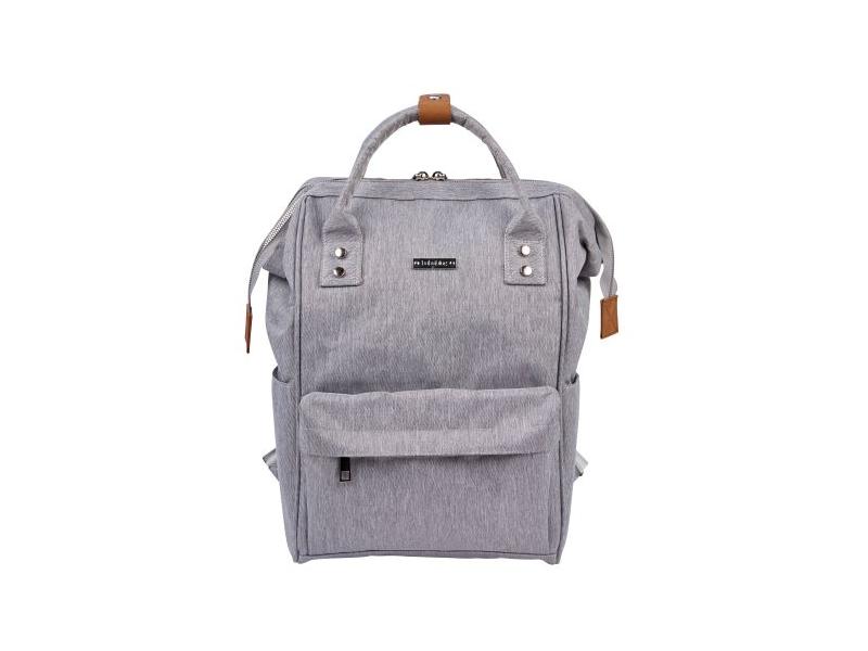 Přebalovací taška-batoh Mani Grey Marl 1